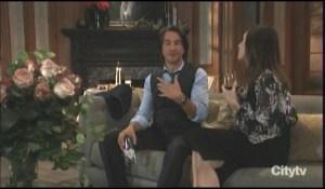 Finn and Anna talk Alexis General Hospital