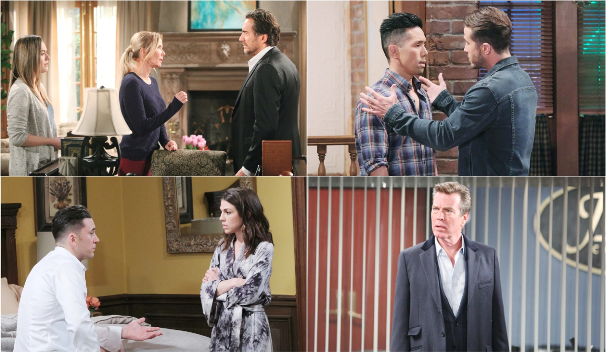 11-18-19 spoilers for bold and beautiful days of our lives general hospital young and restless