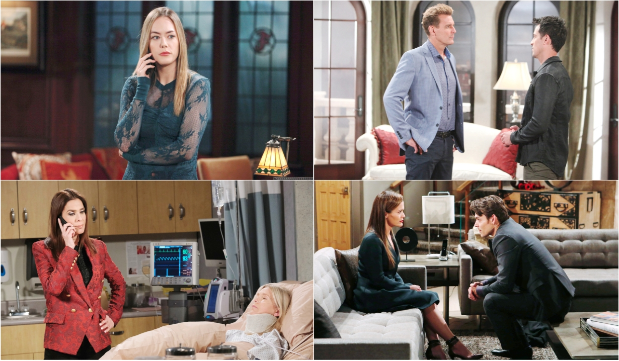 11-11-19 spoilers for bold and beautiful days of our lives general hospital young and restless