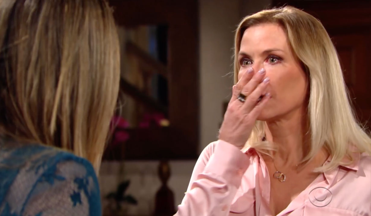 Hope Shocks Brooke on Bold and the Beautiful
