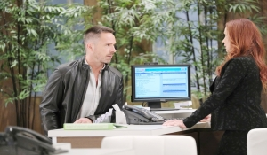 Julian chats with Bobbie General Hospital