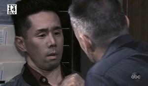 Julian threatens Brad General Hospital