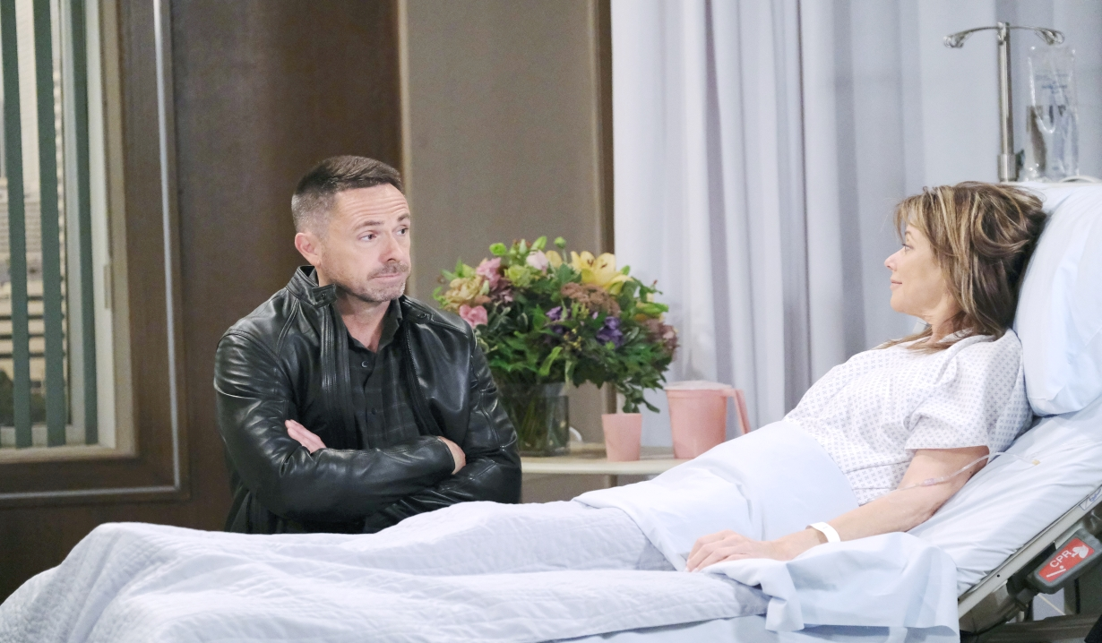 Julian visits Alexis General Hospital