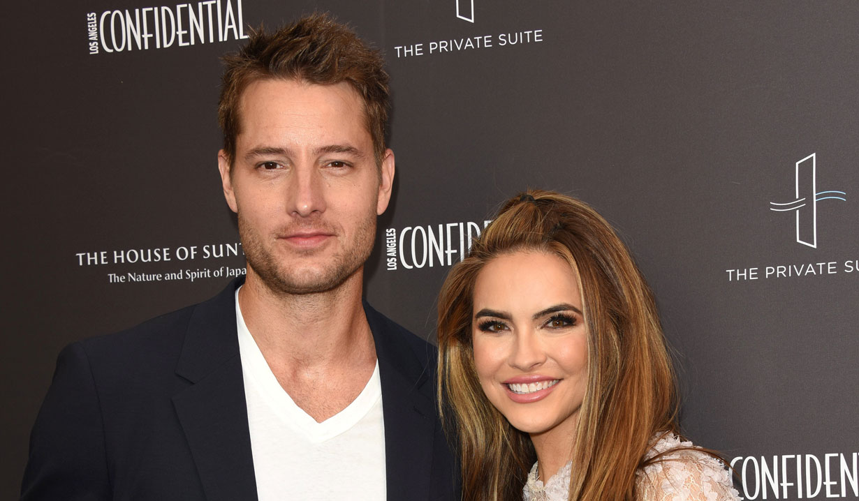Justin Hartley and Chrishell Stause Young and the Restless Days of our Lives