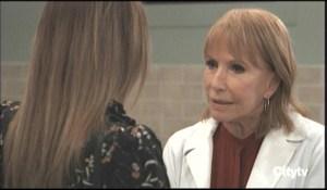 Kim says goodbye to Monica General Hospital