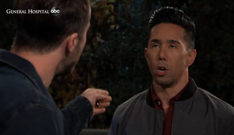 Lucas accuses Brad of cheating General Hospital