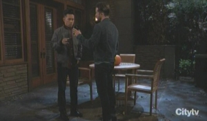 Lucas confronts Brad General Hospital