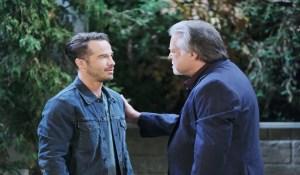 Tony talks to Lucas General Hospital