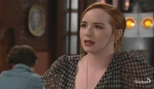 Mariah worries about Adam Young and Restless