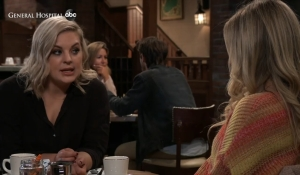 Maxie and Lulu discuss dates General Hospital