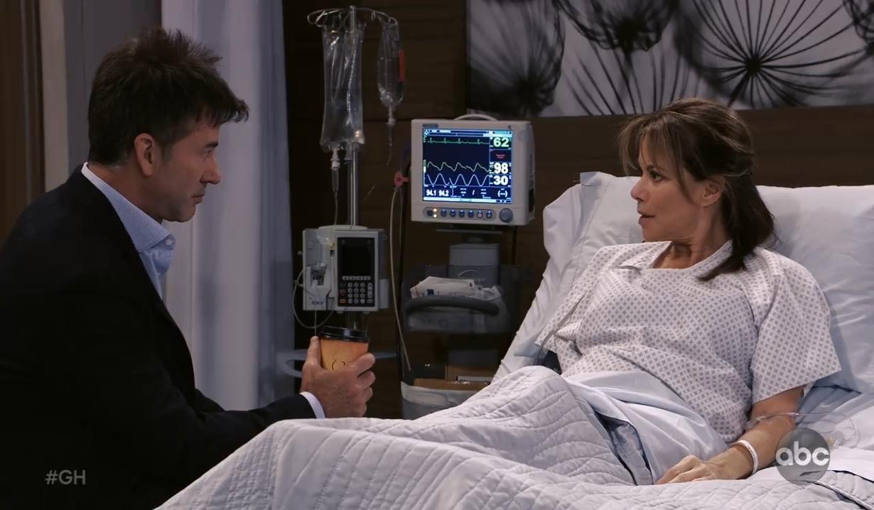 Neil tells Alexis his suspicions General Hospital