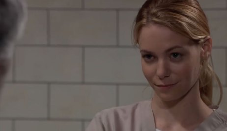Nelle in Prison on General Hospital