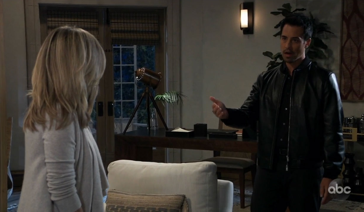 Nikolas reveals himself to Carly on General Hospital