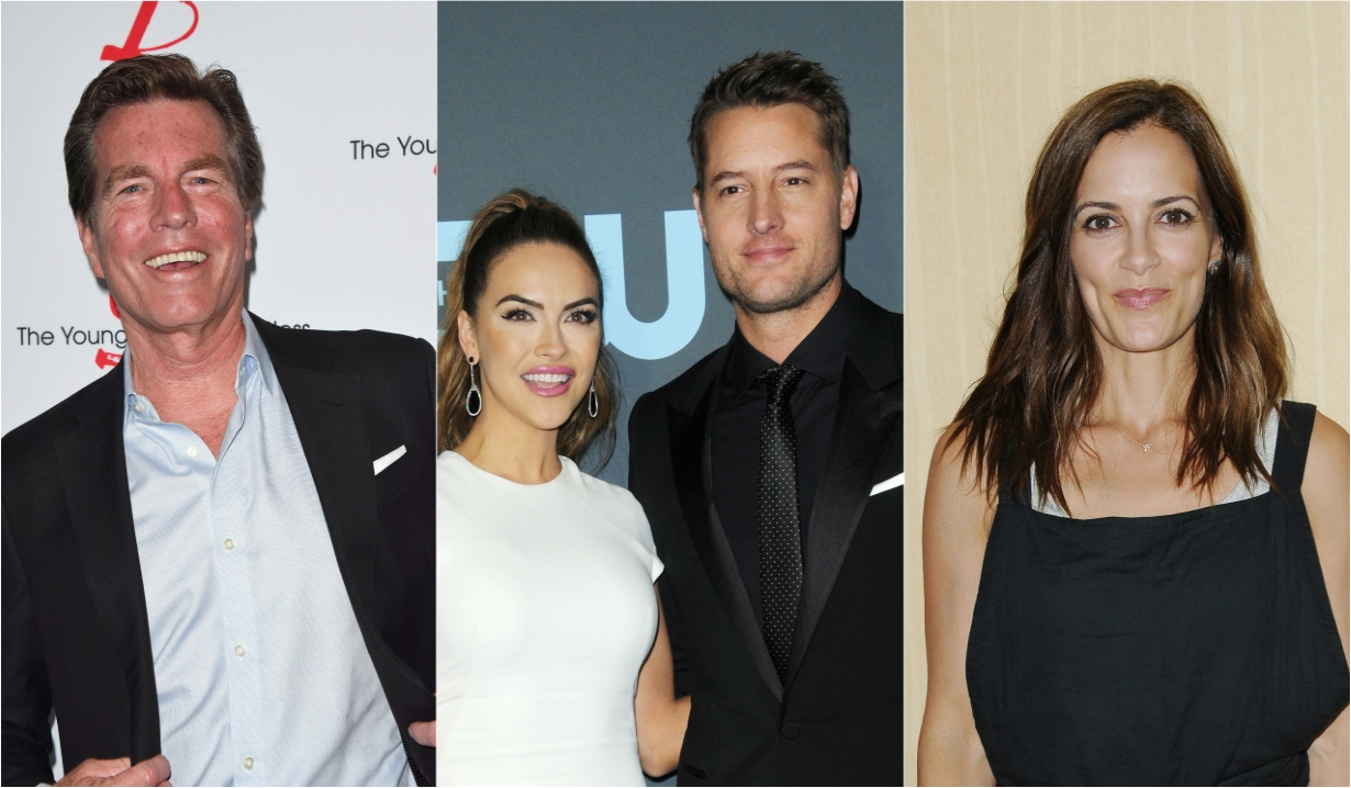 Peter bergman chrishell stause Justin hartley rebecca budig soaps news days off our lives general hospital the young and the restless the bold and beautiful