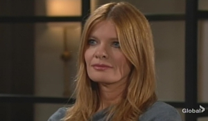 Phyllis talks to Nick Young and Restless