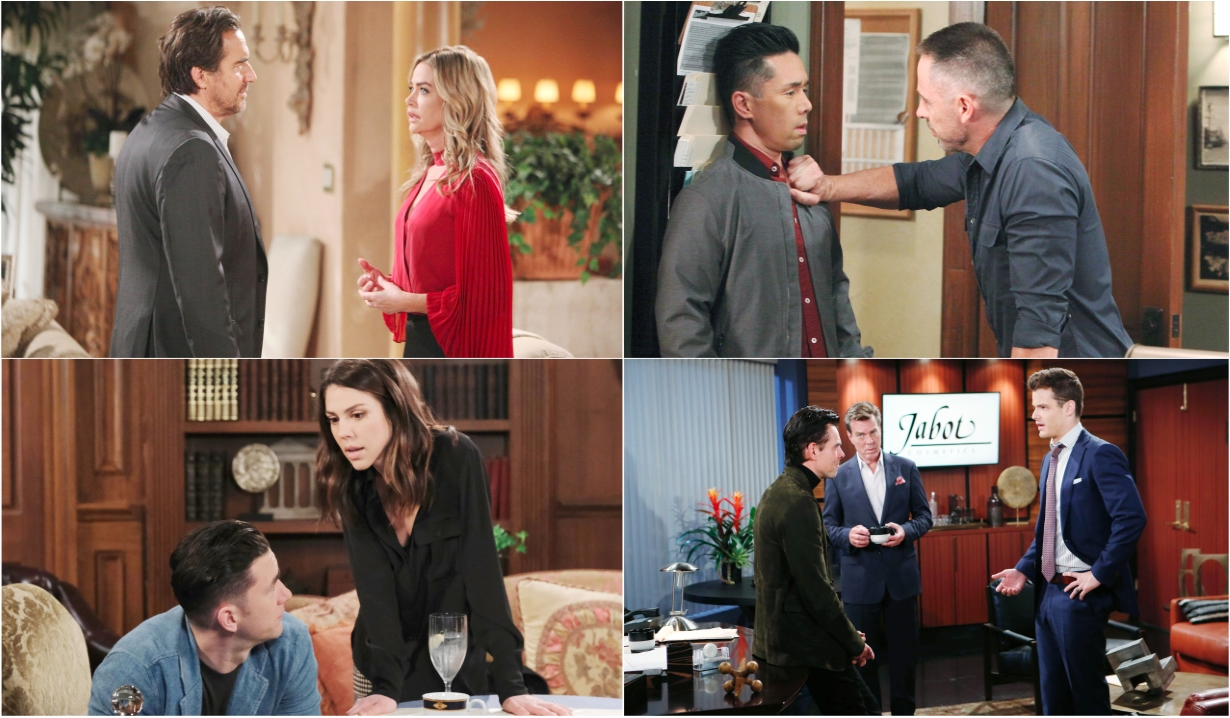 11-25-19 spoilers for bold and beautiful days of our lives general hospital young and restless