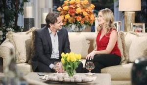 Ridge e Shauna parlano sul divano Bold and Beautiful