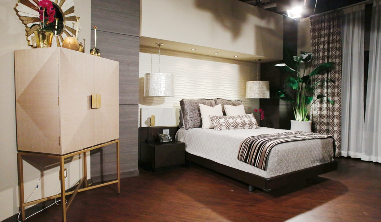 Abby suite bed side view Young and Restless