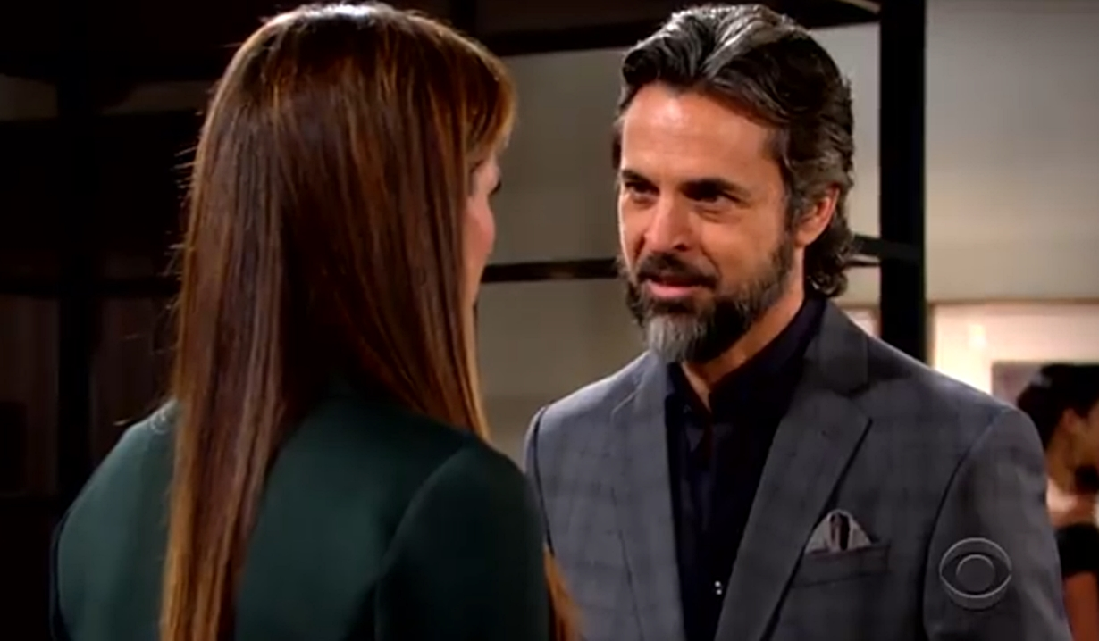 Simon threatens Connor to Chelsea Young and Restless