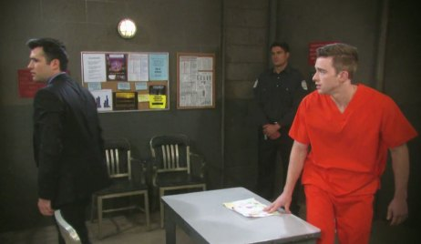 Sonny and Will in Prison