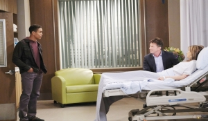 TJ has news for Neil and Alexis General Hospital