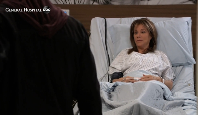 TJ visits Alexis General Hospital
