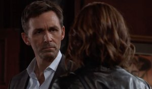 Valentin and Hayden makes a deal on General Hospital