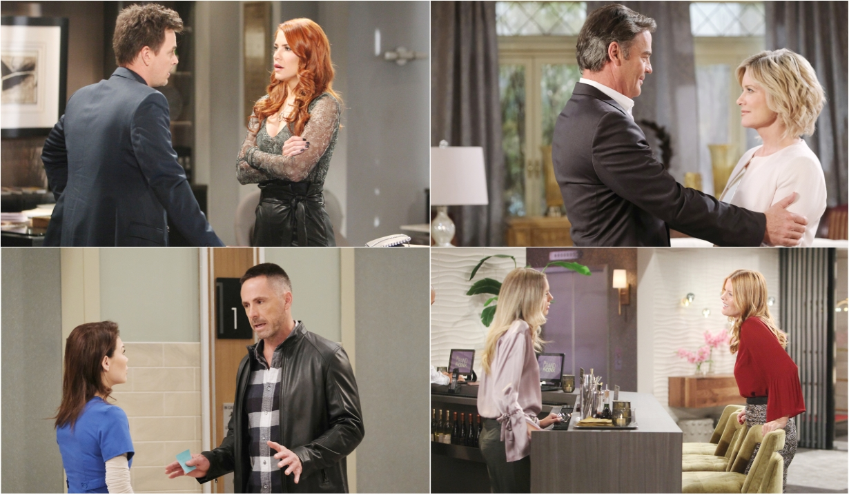 12-2-19 spoilers for bold and beautiful days of our lives general hospital young and restless