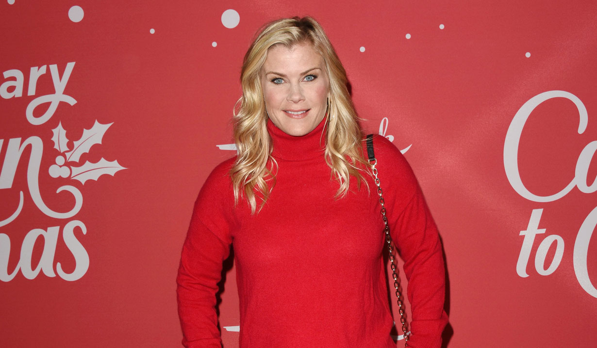 days of our lives alison sweeney hallmark's countdown to christmas event