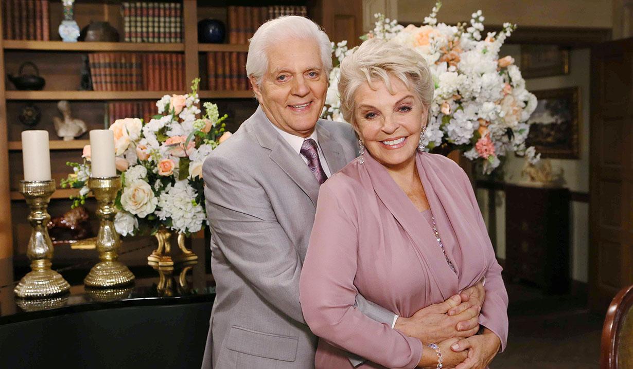 Susan Seaforth Hayes, Bill Hayes Days Set Wedding NBC Studios Burbank 09/29/15 Howard Wise/JPI