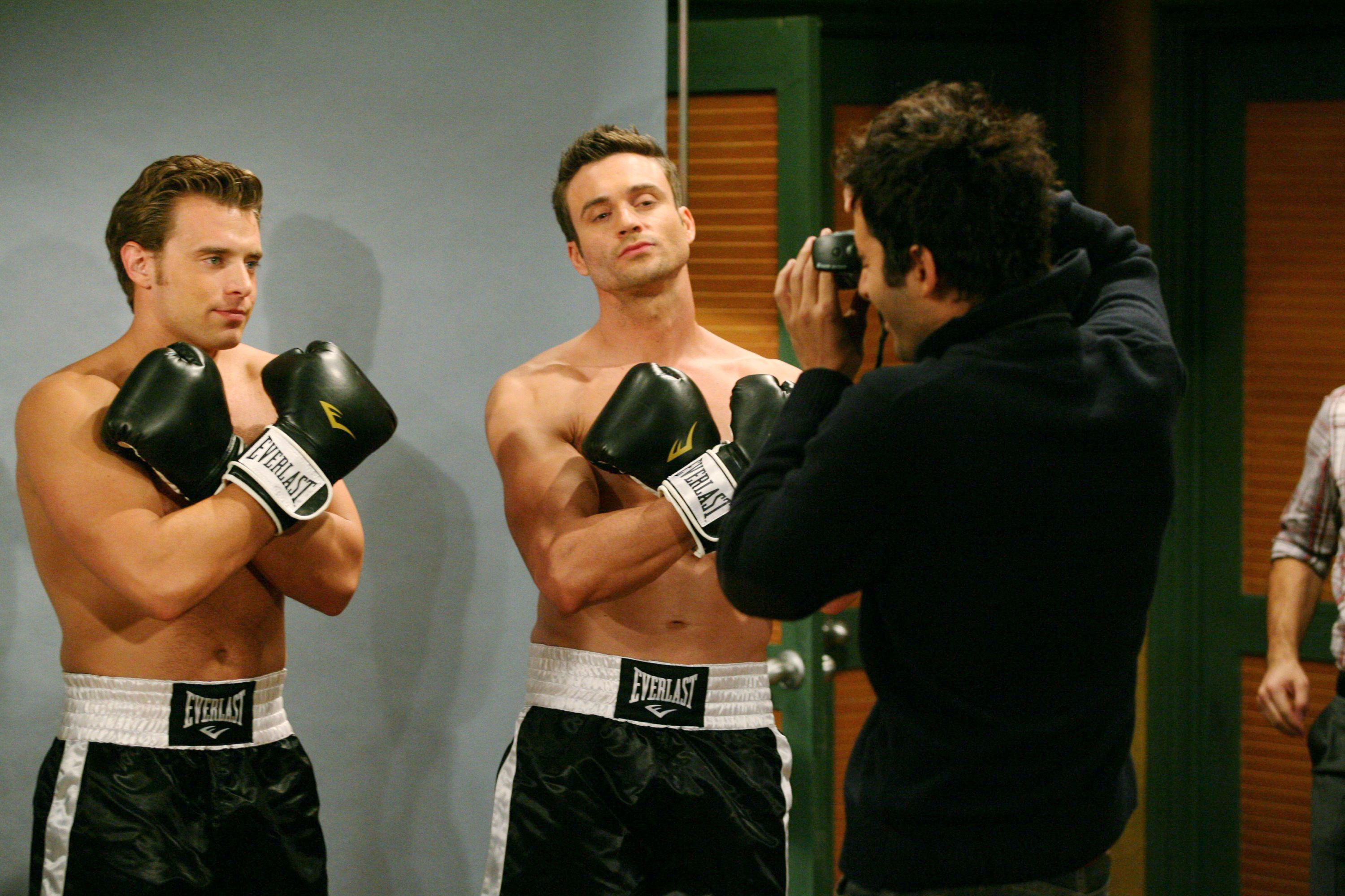 "Daniel Goddard, Billy Miller""The Young and the Restless"" SetCBS Television CityLos Angeles12/5/08©sean smith/jpistudios.com310-657-9661Episode # 9060US Airdate 1/12/08"