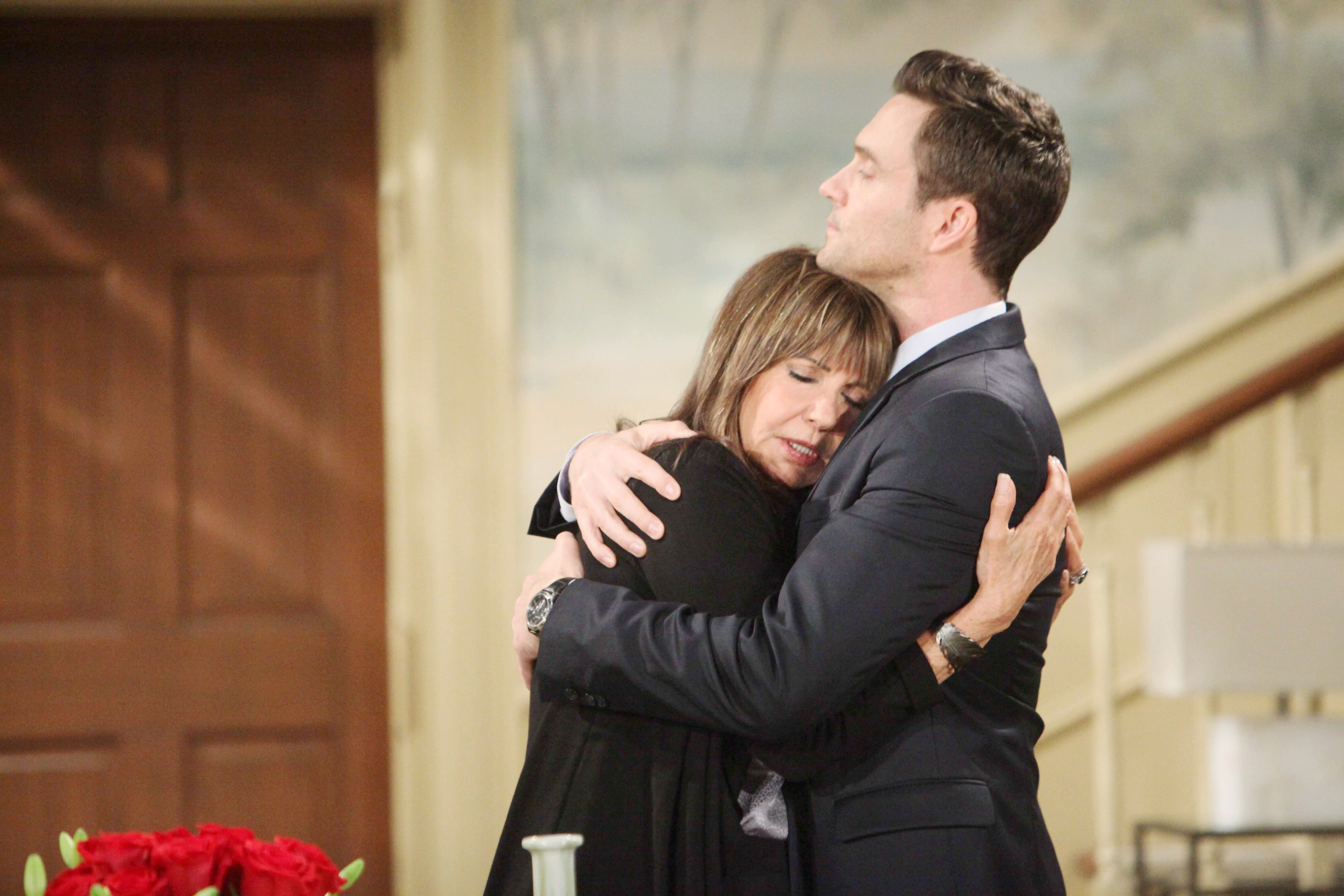 "Jess Walton, Daniel Goddard""The Young and the Restless"" Set CBS television CityLos Angeles05/23/17© Howard Wsie/jpistudios.com310-657-9661Episode # 11217U.S. Airdate 07/11/17"