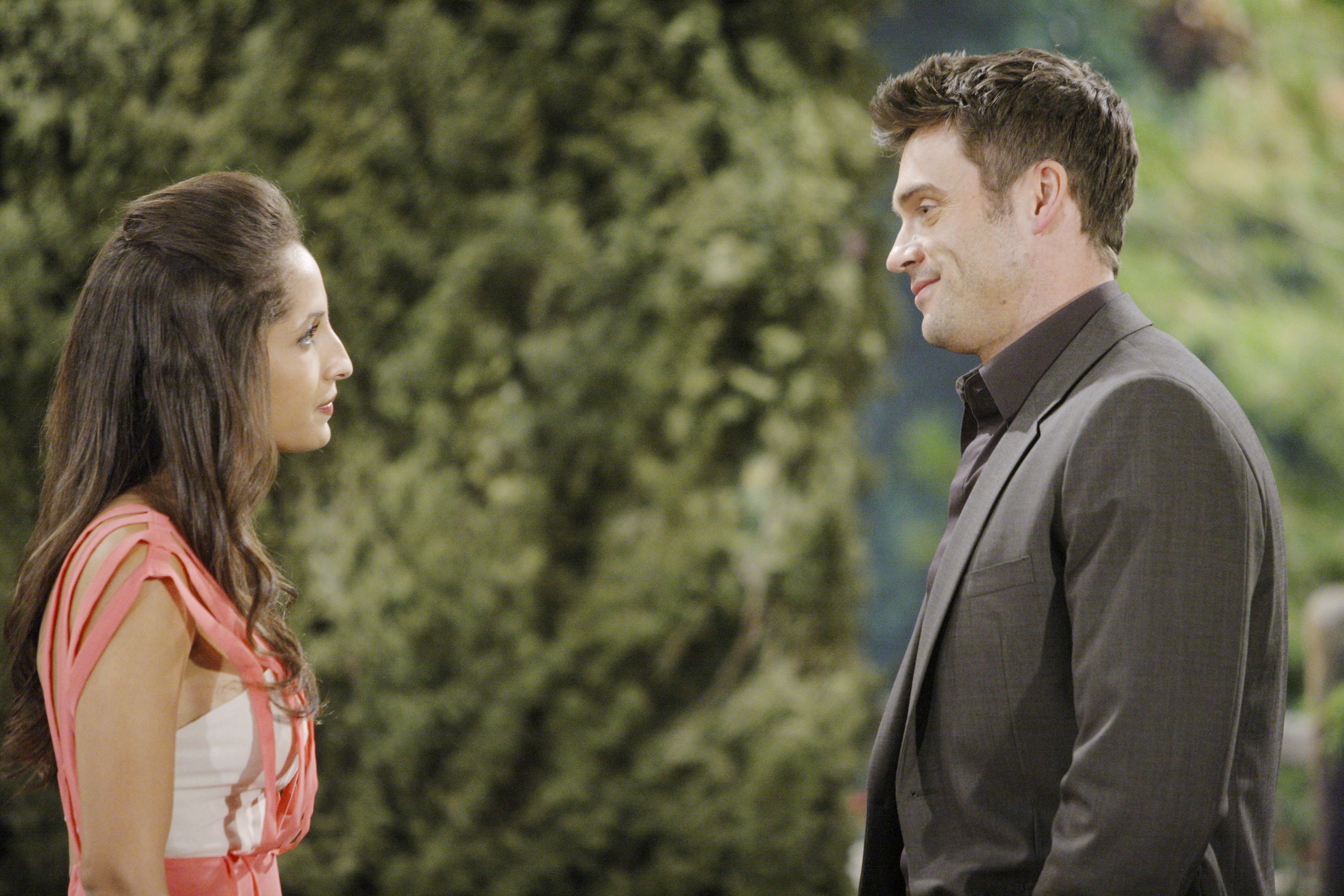 "Christel Khalil, Daniel Goddard""The Young and the Restless"" Set CBS television CityLos Angeles08/16/11©sean smith/jpistudios.com310-657-9661Episode # 9741U.S. Airdate 09/21/11"