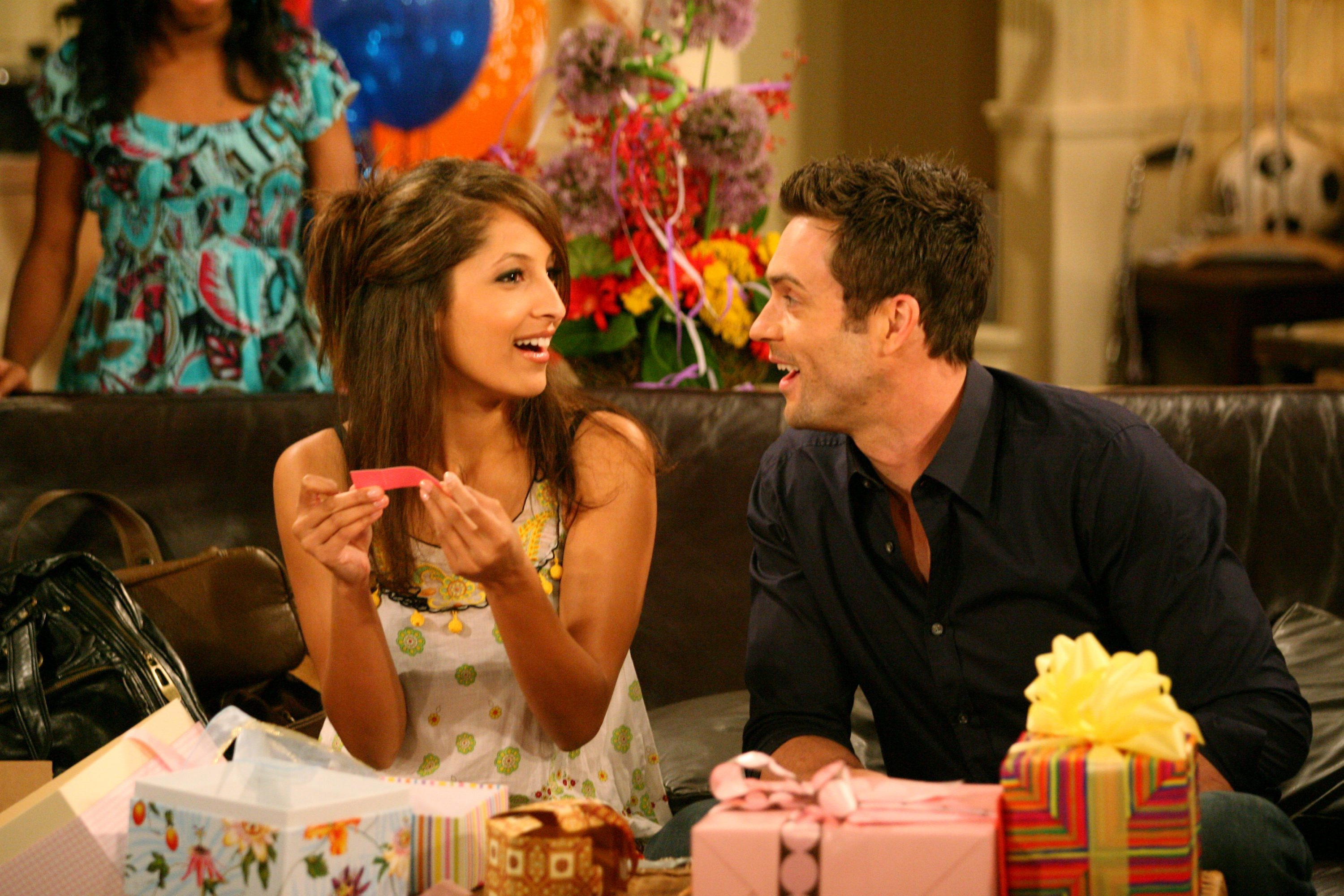 "Daniel Goddard, Christel Khalil""The Young and the Restless"" SetCBS Television CityLos Angeles6/3/08©Aaron Montgomery/jpistudios.com310-657-9661Episode #8923air date 6/26/08"