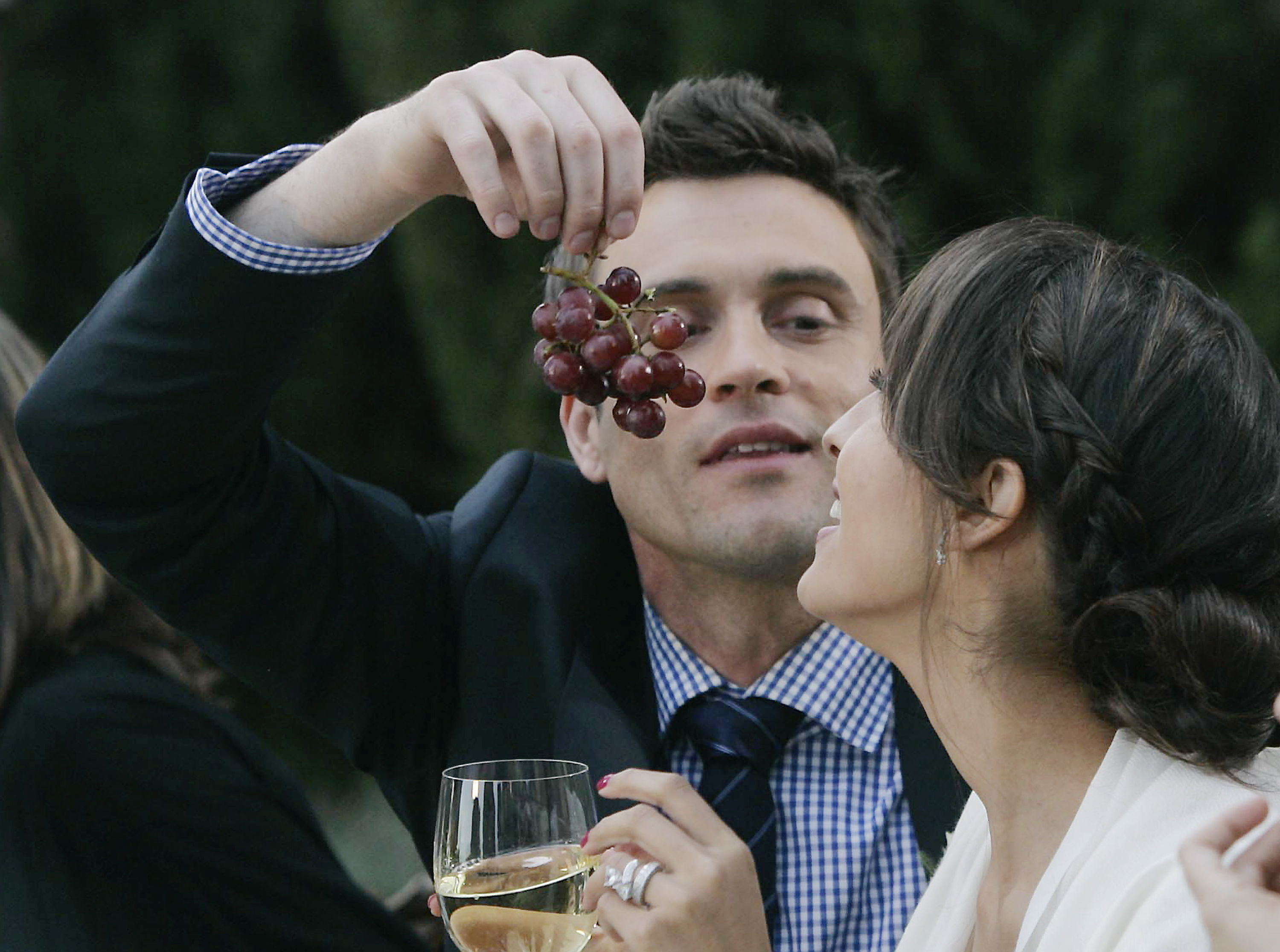 "Daniel Goddard, Christel Khalil""The Young and the Restless"" Set on location Episode # 9844Greystone MansionBeverly Hills, Ca01/24/12©sean smith/jpistudios.com310-657-9661Episode # 9844U.S. Airdate 02/15/12"