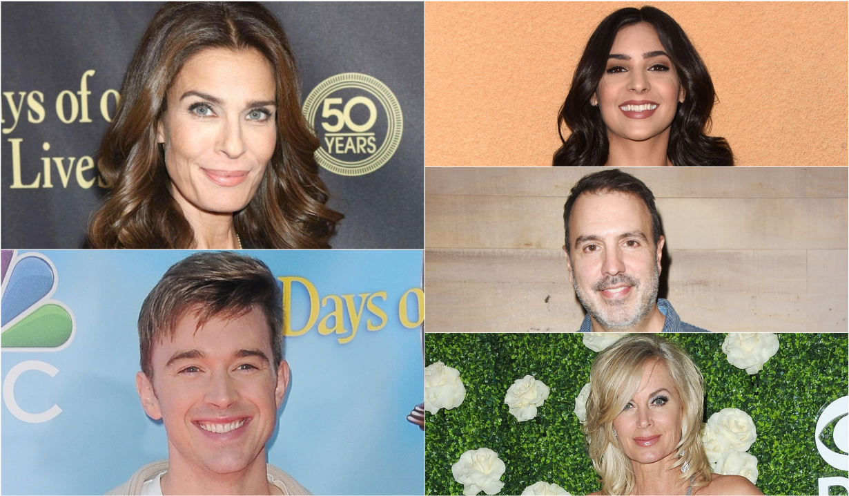 Kristian Alfonso, Camila Banus, Chandler Massey, Ron Carlivati, Eileen Davidson reaction to Days hiatus