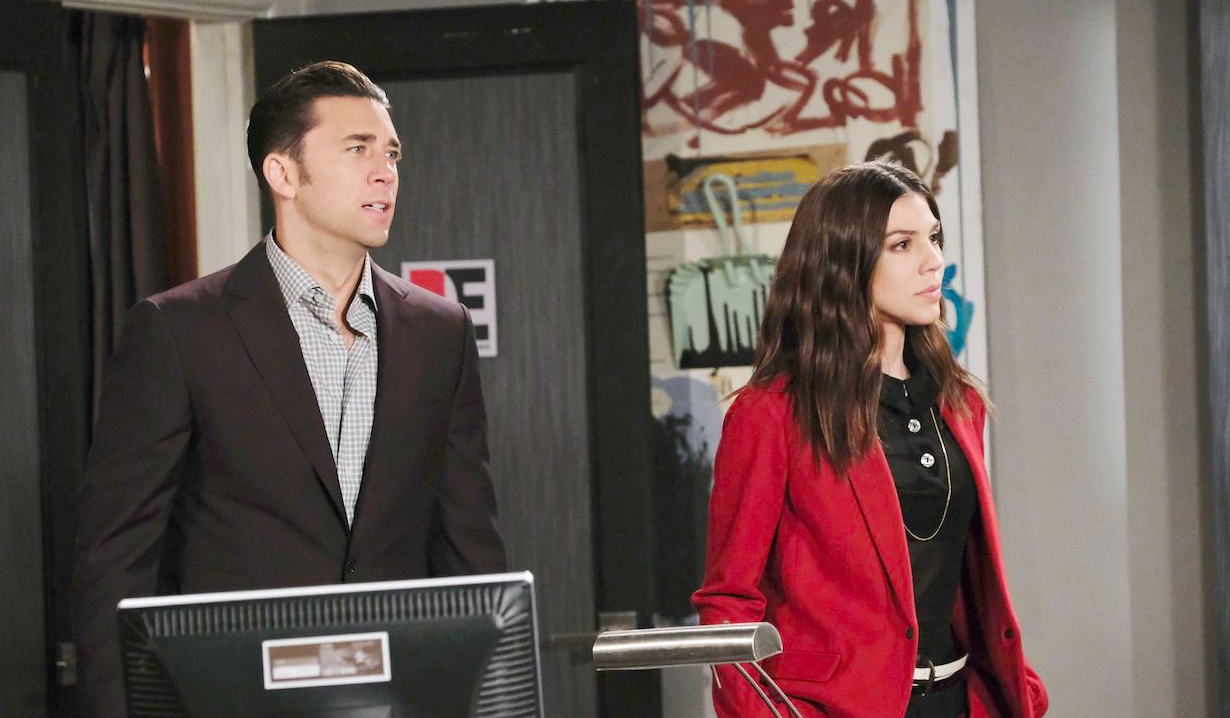 Chad & Abby confront Juliette on Chad & Abby in Paris