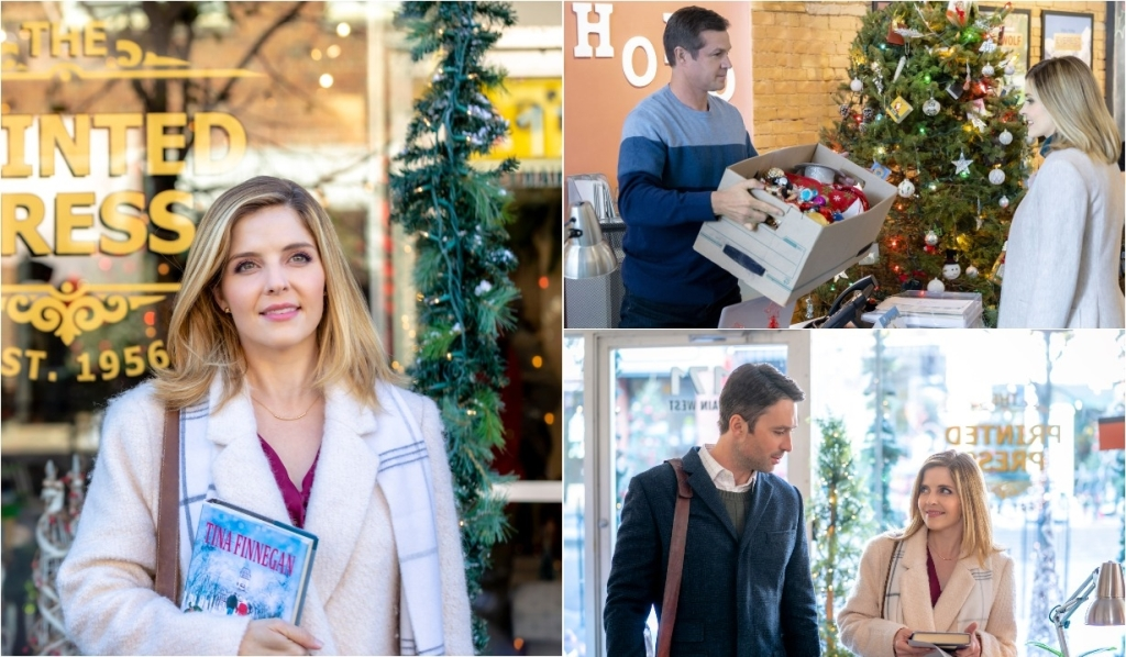 cast of angel falls a novel holiday