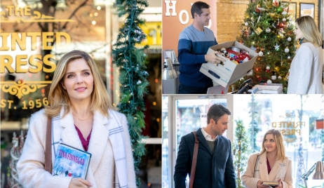 Jen Lilley Hallmarks Angel Falls: A Novel Holiday Days of our Lives