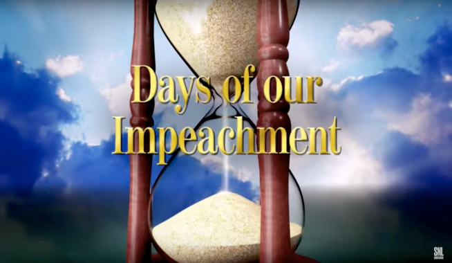 SNL's Days of our Impeachment