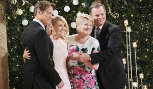 double wedding jennifer jack, justin adrienne days of our lives