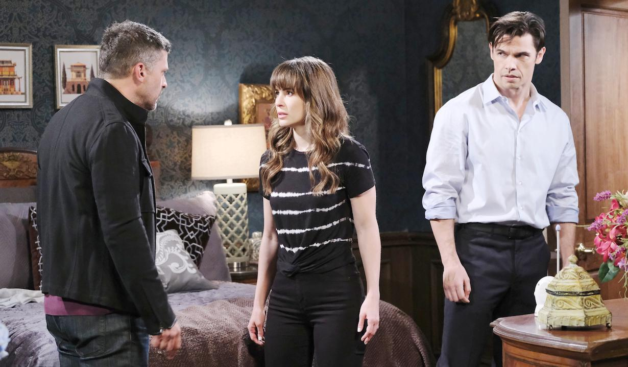 Eric confronts Sarah and Xander over Mickey on Days of our Lives
