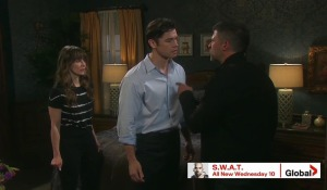 eric angry sarah and xander days of our lives