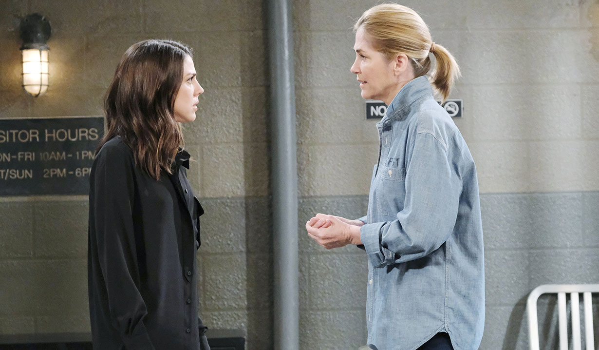 Eve asks for abby's help days of our lives