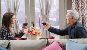 Gina and John drink days of our lives