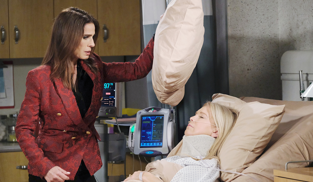 gina tries smother jenn days of our lives