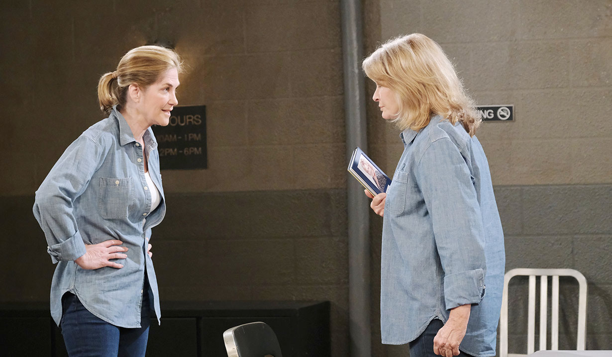 eve and hattie in prison days of our lives