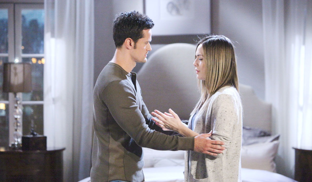hope talks to thomas on bold and beautiful