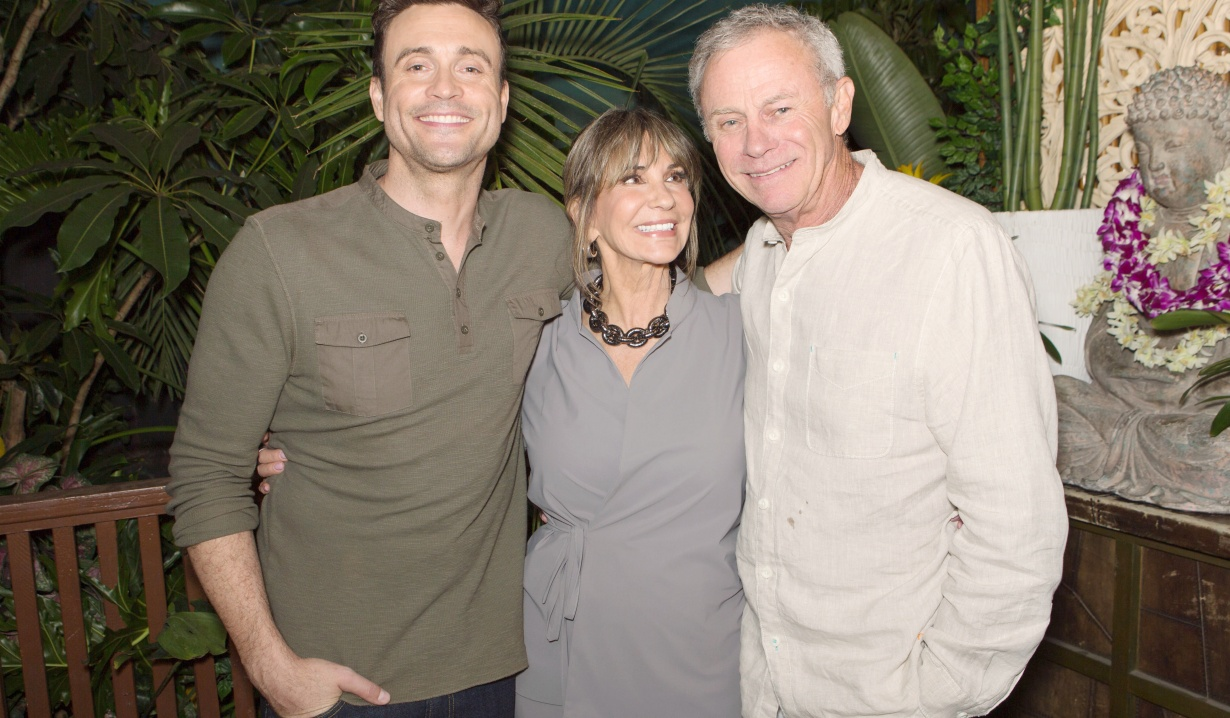 "Jess Walton, Tristan Rogers, Daniel Goddard""The Young and the Restless"