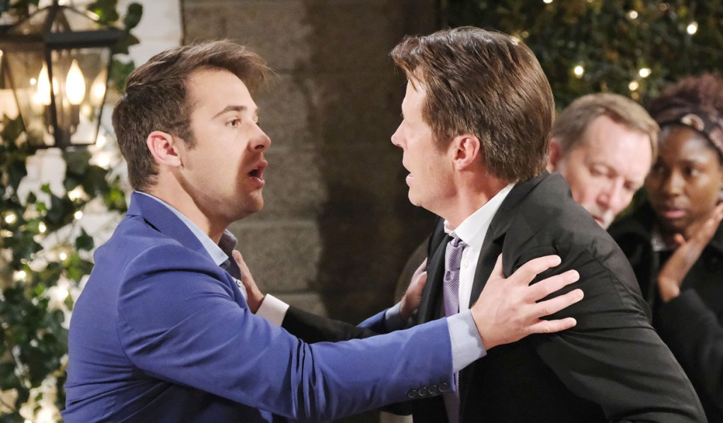jj and jack panic at the square on days of our lives